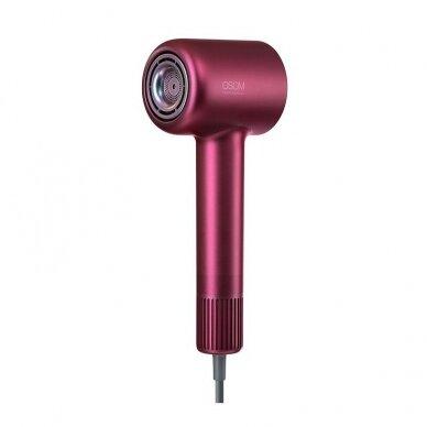 Plaukų džiovintuvas 1600W, raudonas, OSOM HL906HD 11