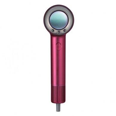Plaukų džiovintuvas 1600W, raudonas, OSOM HL906HD 6