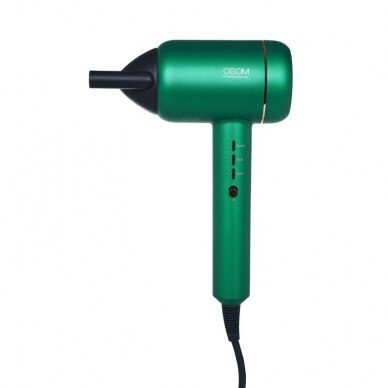 Plaukų džiovintuvas Green OSOM F6GR, su vandens jonais 11