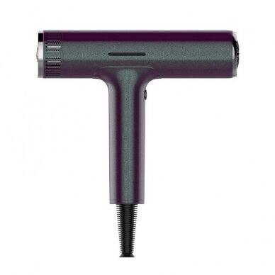 Plaukų džiovintuvas Osom Professional Hair Dryer, bordo sp., ilgaamžis BLDC variklis, 1800W 2