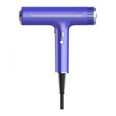 Plaukų džiovintuvas Osom Professional Hair Dryer, mėlynos sp., ilgaamžis BLDC variklis, 1800W 5