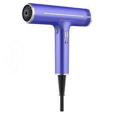 Plaukų džiovintuvas Osom Professional Hair Dryer, mėlynos sp., ilgaamžis BLDC variklis, 1800W
