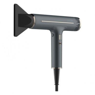 Plaukų džiovintuvas Osom Professional Hair Dryer, pilkos sp. ilgaamžis BLDC variklis, 1800W 3