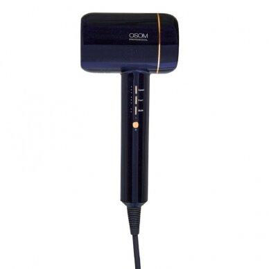 Plaukų džiovintuvas Purple OSOM F6PR, su vandens jonais