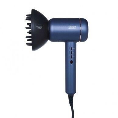 Plaukų džiovintuvas Blue OSOM F5RD, su vandens jonais  12
