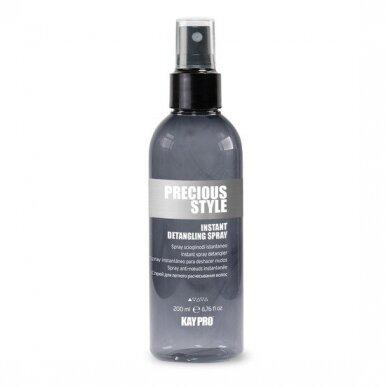 Plaukų purškiklis lengvinantis plaukų iššukavimą KAY PRO Precious Style, 200ml