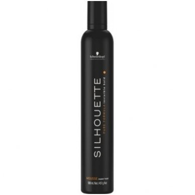 Plaukų putos Schwarzkopf Silhouette super hold, 500ml