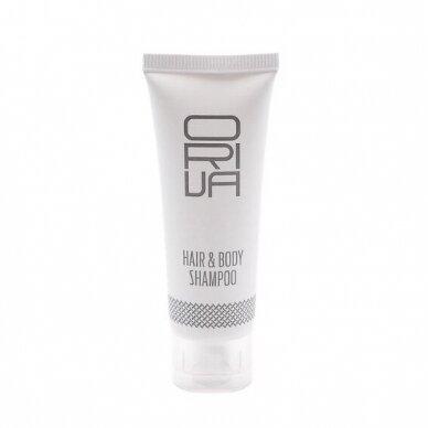 Plaukų šampūnas ir dušo gelis ORIVA ''2 in 1'', 30 ml
