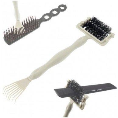 Plaukų šepečių ir šukų valymo įrankis, 1 vnt.