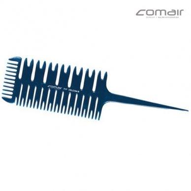 Plaukų šukos sruogelių dažymui Comair Blue Profi Line Nr. 717