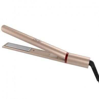 Plaukų tiesintuvas su šilko plokštele Gold OSOM166,120-230C