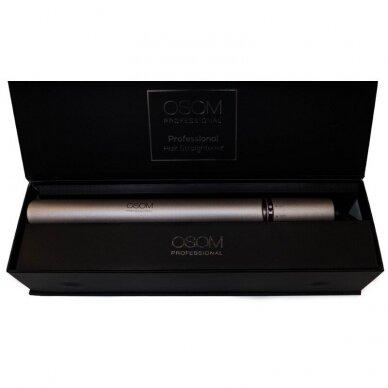 Plaukų tiesintuvas su šilko plokštele Gold OSOM166,120-230C 4