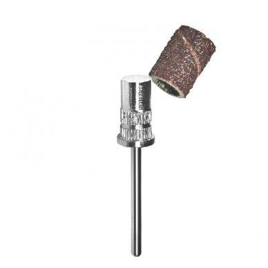 Plieninis frezos antgalių laikiklis, cilindro formos, 6mm, 1 vnt.