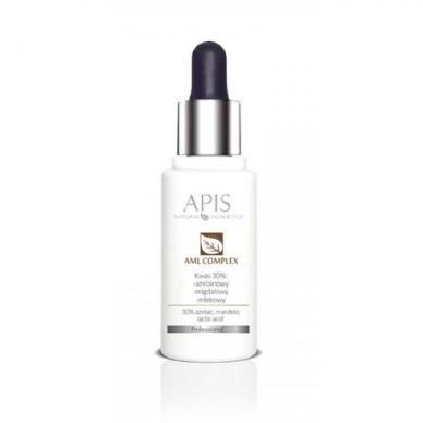 APIS AMLCOMPLEX eksfoliacijos serumas su 30%,pH 2.0, rūgščių kompleksu,30ml