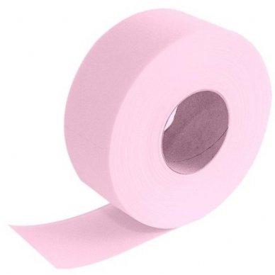 Popierius depiliacijai ritinyje, 50m su perforacija, rausvos sp.