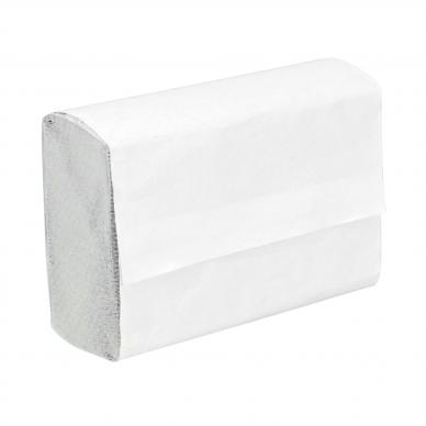 Popieriniai rankšluosčiai, 22x22,5 cm, 200 lapų, šviesiai pilki