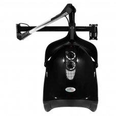 Profesionalus plaukų džiovintuvas, tvirtinamas HOOD DX-201W, juodos sp.