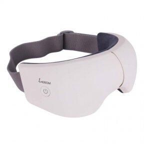 Presoterapijos akiniai akių procedūroms Be Osom, masažiniai, balti