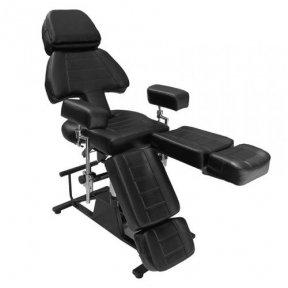 Profesionalus tatuiruočių salono krėslas CH-232, juodos sp.