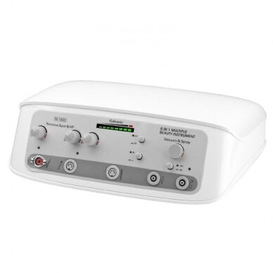 Prietaisas ELEGANTE 5in1: darsonvalis+galvanika+vakuumas+purškimas+elektrokoaguliatorius 3