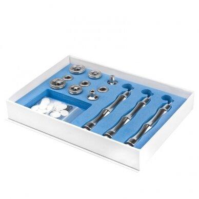 Prietaisas ELEGANTE 5in1: darsonvalis+galvanika+vakuumas+purškimas+elektrokoaguliatorius 2