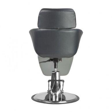 Profesionali kosmetologinė kėdė A330, juodos/pilkos sp. 6