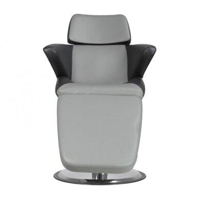 Profesionali kosmetologinė kėdė A330, juodos/pilkos sp. 7