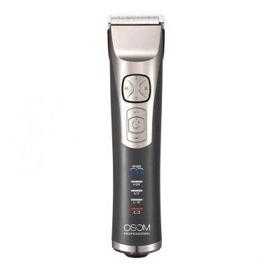 Profesionali plaukų kirpimo mašinėlė OSOM HCP9 2