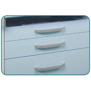 Profesionalus pedikiūro staliukas, baltos spalvos 3