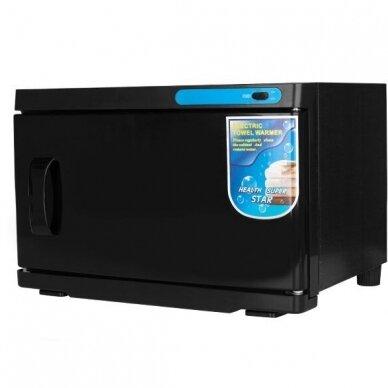Rankšluosčių šildytuvas su sterilizatoriumi UV-C 16L, BLACK