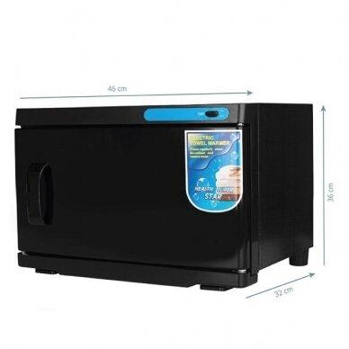 Rankšluosčių šildytuvas su sterilizatoriumi UV-C 16L, BLACK 2