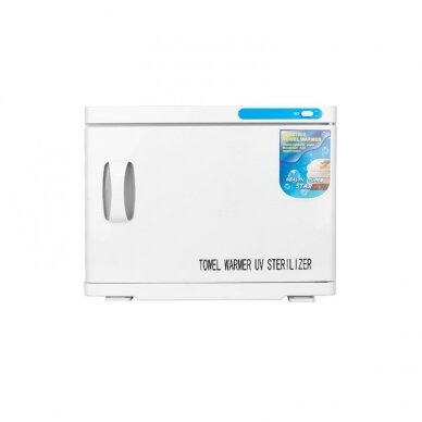 Rankšluosčių šildytuvas su sterilizatoriumi, UV-C 23L WHITE 4