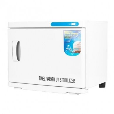 Rankšluosčių šildytuvas su sterilizatoriumi, UV-C 23L WHITE