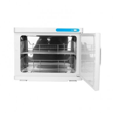 Rankšluosčių šildytuvas su sterilizatoriumi, UV-C 23L WHITE 2