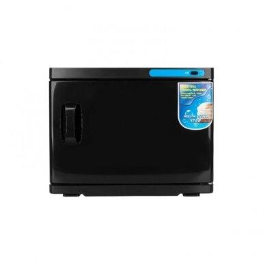 Rankšluosčių šildytuvas su UV-C sterilizatoriumi 23L, juodos spalvos 4