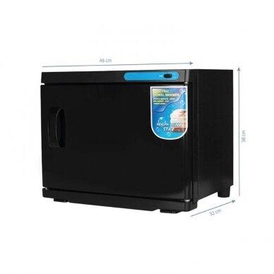 Rankšluosčių šildytuvas su UV-C sterilizatoriumi 23L, juodos spalvos 2