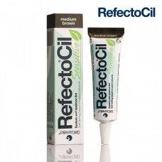 REFECTOCIL Sensitive Medium Brown vidutinės - rudos sp. antakių - blakstienų dažai, 15ml