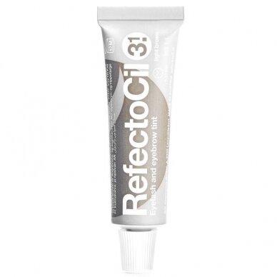 Refectocil henna gelio dažai 3.1 šviesi ruda sp., 15ml