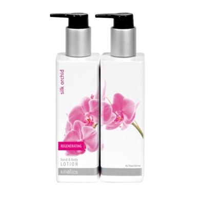 Regeneruojantis rankų ir kūno losjonas KINETICS Silk Orchid, 250 ml 2