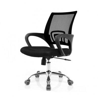 Registratūros kėdė COMFORT 66, juodos sp. 2