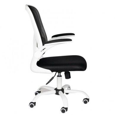 Registratūros kėdė COMFORT 73, baltos/juodos sp. 2