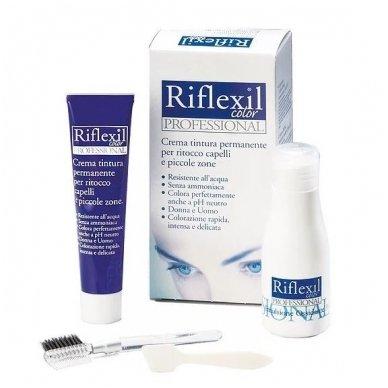 Rinkinys antakiams ir barzdai dažyti Riflexil 7/0, natūrali blond sp.