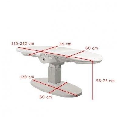 Elektrinis kosmetologinis krėslas 2240, baltos sp. 2