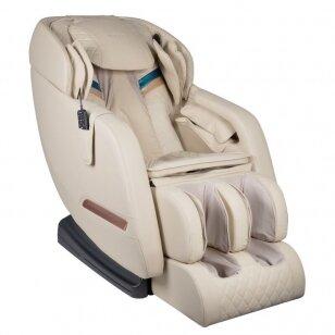 SAKURA masažinė kėdė COMFORT 806, kreminės sp.