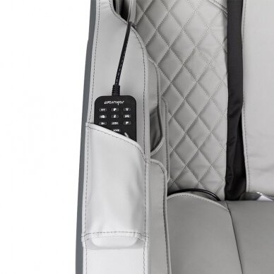 SAKURA masažinė kėdė CLASSIC 801, pilkos sp. 10