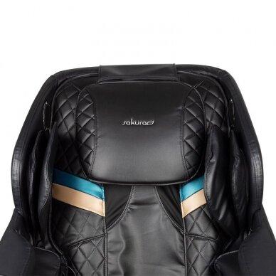 SAKURA masažinė kėdė COMFORT 806, juodos sp. 5