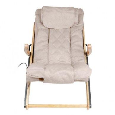 SAKURA RELAX sulankstoma kėdė su masažo funkcija, rudos sp. 7