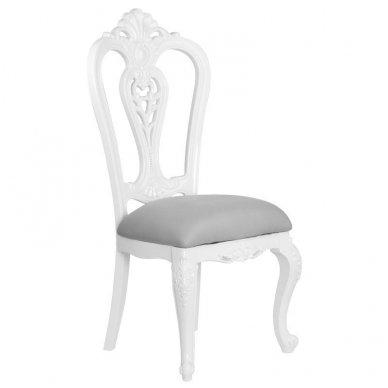 Salono baldų rinkinys STYLE, balta/pilka sp. 4