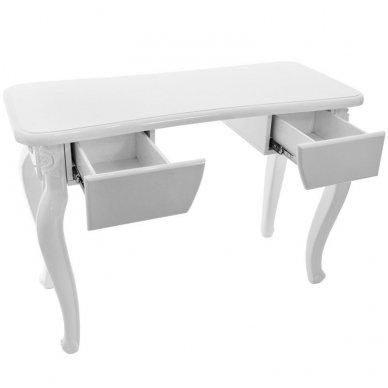 Salono baldų rinkinys STYLE, balta/pilka sp. 6