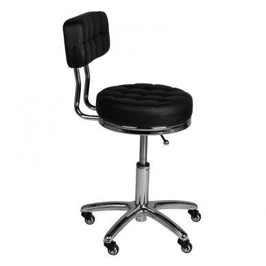 Salono kėdė AM-877, juodos sp. 4